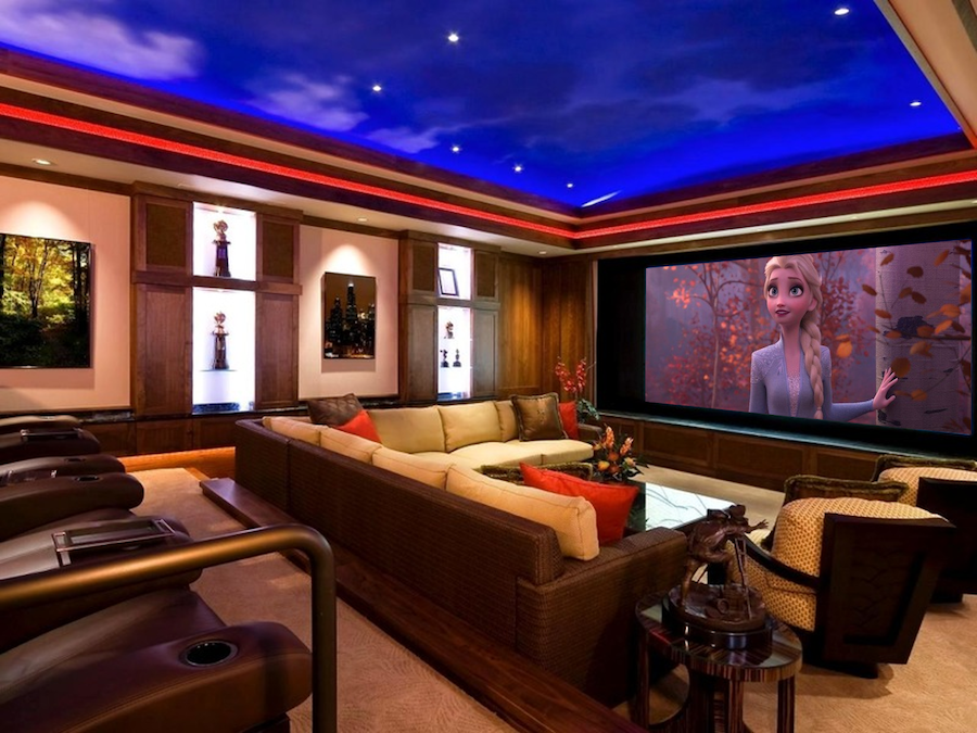 Everything You Need for a Private Home Theater System