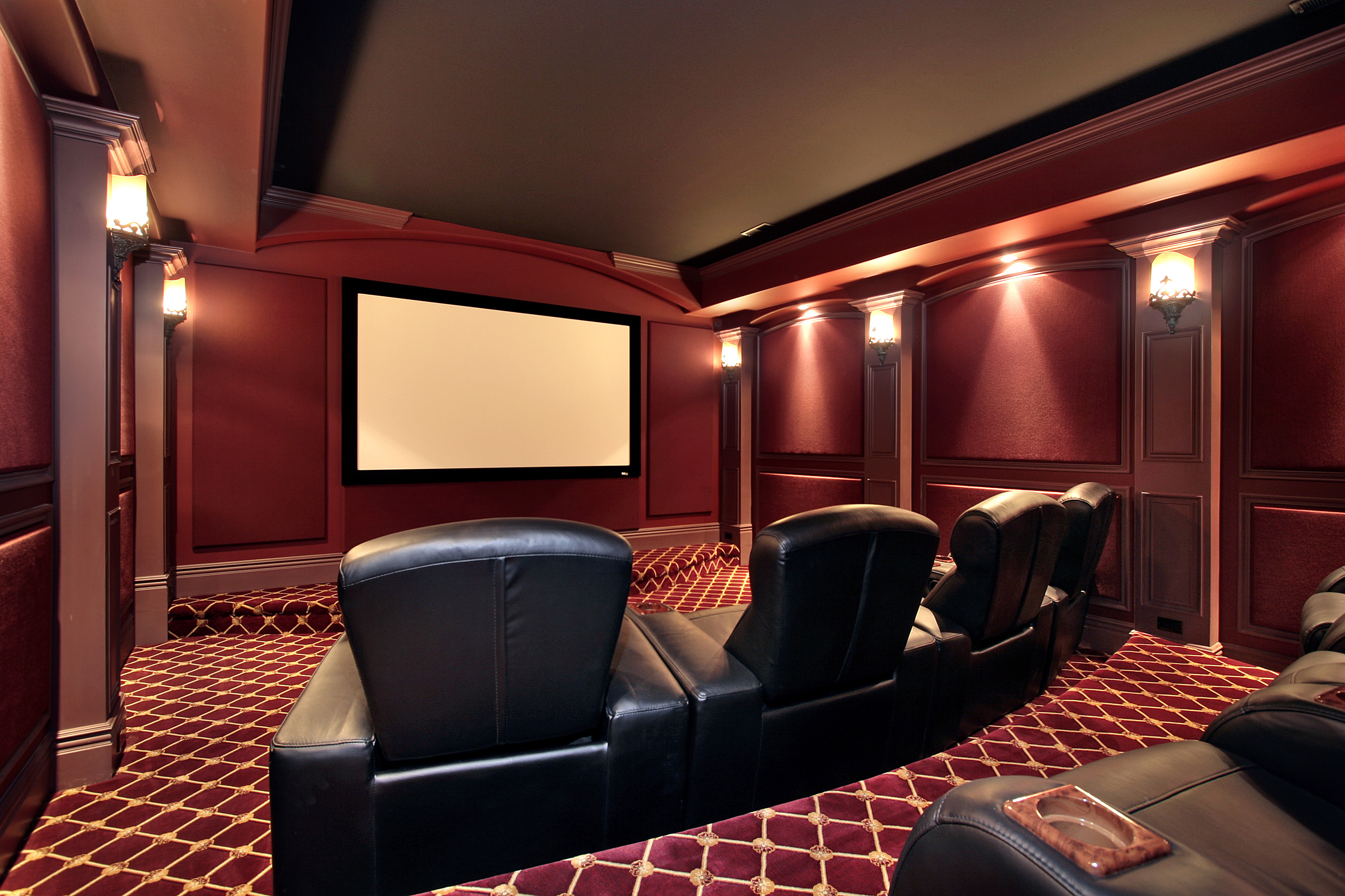 Three Great Home Theater Themes For Your Custom Cinema
